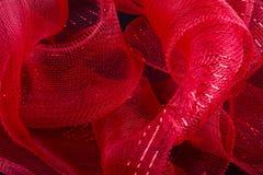 κόκκινη κορδέλλα Στοκ φωτογραφίες με δικαίωμα ελεύθερης χρήσης