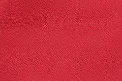 Κόκκινη κλασική υπόβαθρο ή σύσταση δέρματος χρωμάτων γνήσια Για το υπόβαθρο, σκηνικό, υπόστρωμα, χρήση σύνθεσης με Στοκ Εικόνα