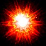 Κόκκινη λάμψη αστεριών Στοκ εικόνες με δικαίωμα ελεύθερης χρήσης