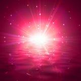 Κόκκινη λάμψη αστεριών Στοκ Φωτογραφίες