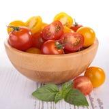 κόκκινη ντομάτα κίτρινη Στοκ φωτογραφία με δικαίωμα ελεύθερης χρήσης