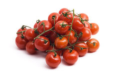 κόκκινη ντομάτα κερασιών Στοκ εικόνα με δικαίωμα ελεύθερης χρήσης