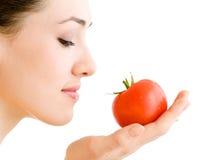 κόκκινη ντομάτα Στοκ εικόνες με δικαίωμα ελεύθερης χρήσης