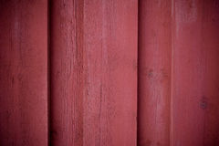 Κόκκινη ξύλινη σύσταση τοίχων Στοκ φωτογραφία με δικαίωμα ελεύθερης χρήσης