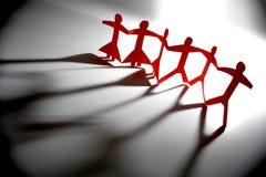 κόκκινη ομάδα Στοκ φωτογραφία με δικαίωμα ελεύθερης χρήσης