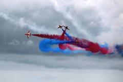 Κόκκινη ομάδα επίδειξης αέρα βελών Στοκ Εικόνες