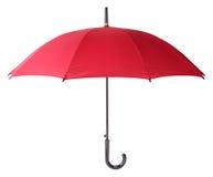 κόκκινη ομπρέλα Στοκ Εικόνες