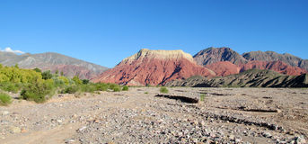 κόκκινη πέτρα βουνών στοκ φωτογραφίες