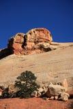 κόκκινη πέτρα επιδορπίων στοκ φωτογραφία με δικαίωμα ελεύθερης χρήσης