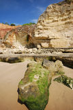 κόκκινη πέτρα της Πορτογα&la Στοκ φωτογραφία με δικαίωμα ελεύθερης χρήσης