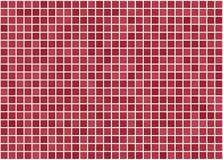 Κόκκινη παραλλαγή του Μπορντώ κεραμιδιών Στοκ εικόνες με δικαίωμα ελεύθερης χρήσης
