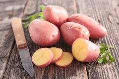 κόκκινη πατάτα στοκ εικόνες με δικαίωμα ελεύθερης χρήσης