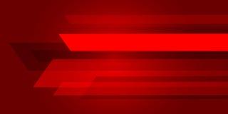 Κόκκινη περίληψη υποβάθρου με την ψηφιακή έννοια γραμμών φωτισμού διανυσματική απεικόνιση
