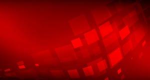 Κόκκινη περίληψη υποβάθρου με την ψηφιακή έννοια γραμμών φωτισμού ελεύθερη απεικόνιση δικαιώματος