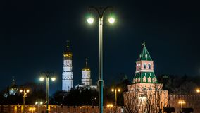 Κόκκινη πλατεία και καθεδρικός ναός του βασιλικού του ST στη Μόσχα στοκ φωτογραφία με δικαίωμα ελεύθερης χρήσης