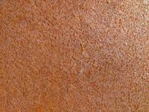 Κόκκινη πορτοκαλιά παλαιά σκουριασμένη επιφάνεια Στοκ φωτογραφία με δικαίωμα ελεύθερης χρήσης