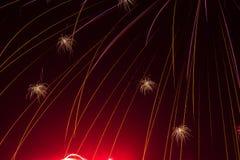 Κόκκινη πυράκτωση στοκ φωτογραφία με δικαίωμα ελεύθερης χρήσης