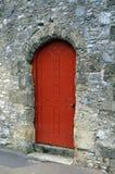 Κόκκινη πόρτα Στοκ Εικόνα