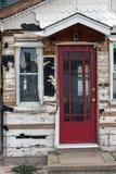 Κόκκινη πόρτα Στοκ Φωτογραφίες