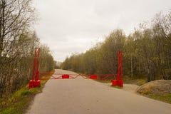 Κόκκινη πύλη Στοκ φωτογραφία με δικαίωμα ελεύθερης χρήσης