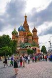Κόκκινη πλατεία, καθεδρικός ναός στοκ εικόνα με δικαίωμα ελεύθερης χρήσης