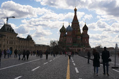 Κόκκινη πλατεία, Μόσχα, ρωσική ομοσπονδιακή πόλη, Ρωσική Ομοσπονδία, Ρωσία Στοκ εικόνες με δικαίωμα ελεύθερης χρήσης