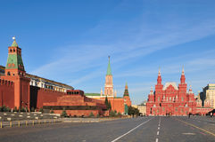 Κόκκινη πλατεία στη Μόσχα Στοκ Εικόνες