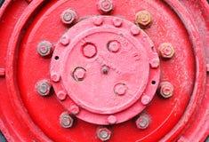 κόκκινη ρόδα truck στοκ φωτογραφίες με δικαίωμα ελεύθερης χρήσης