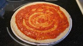 Κόκκινη σάλτσα Puzza Στοκ εικόνες με δικαίωμα ελεύθερης χρήσης