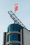 Κόκκινη σημαία του κόμματος SPD Στοκ εικόνες με δικαίωμα ελεύθερης χρήσης