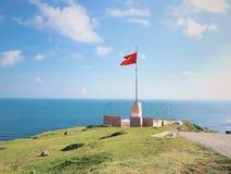 Κόκκινη σημαία στοκ φωτογραφία