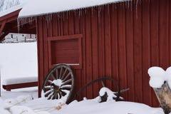 Κόκκινη σιταποθήκη Στοκ Εικόνες