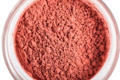 Κόκκινη σκόνη σε ένα βάζο γυαλιού Στοκ Φωτογραφία