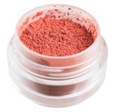 Κόκκινη σκόνη σε ένα βάζο γυαλιού Στοκ φωτογραφία με δικαίωμα ελεύθερης χρήσης