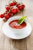 κόκκινη σούπα Στοκ Εικόνες