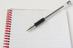 κόκκινη σπείρα σημειωματά&r Στοκ εικόνες με δικαίωμα ελεύθερης χρήσης