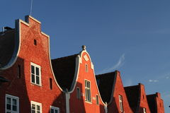 κόκκινη στέγη 2 Στοκ Εικόνα