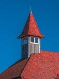 κόκκινη στέγη Στοκ Εικόνες