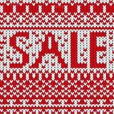 Κόκκινη σύσταση λέξης πώλησης Στοκ Εικόνες