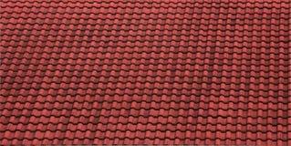 κόκκινη σύσταση στεγών Στοκ Εικόνα