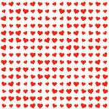 Κόκκινη σύσταση συμβόλων καρδιών στοκ εικόνα με δικαίωμα ελεύθερης χρήσης