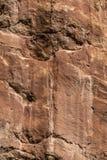 Κόκκινη σύσταση υποβάθρου πετρών σχηματισμού βράχου στοκ εικόνες με δικαίωμα ελεύθερης χρήσης
