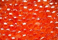 κόκκινη σύσταση χαβιαριών Στοκ εικόνες με δικαίωμα ελεύθερης χρήσης
