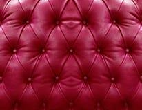 κόκκινη ταπετσαρία δέρματος Στοκ Εικόνες