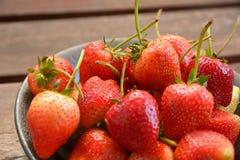 Κόκκινη φράουλα Στοκ Φωτογραφία