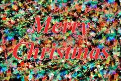 Κόκκινη Χαρούμενα Χριστούγεννα ελεύθερη απεικόνιση δικαιώματος