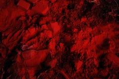 Σύσταση της ξηράς χρωστικής ουσίας Στοκ Φωτογραφίες