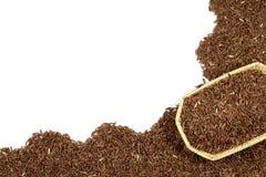 Κόκκινη ύφανση ρυζιού ή Riceberry και καλαθιών Στοκ εικόνες με δικαίωμα ελεύθερης χρήσης