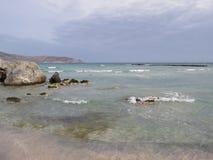 Κόκκινοι άμμος και βράχοι Στοκ Εικόνα