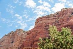 Κόκκινοι απότομοι βράχοι Sedona AZ στοκ εικόνες με δικαίωμα ελεύθερης χρήσης